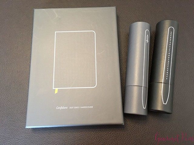 Review @BaronFig Confidant Notebook & Squire Rollerball Pens 1