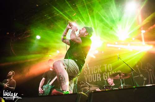 Parkway Drive + Darkest Hour + Stick To Your Guns en Madrid