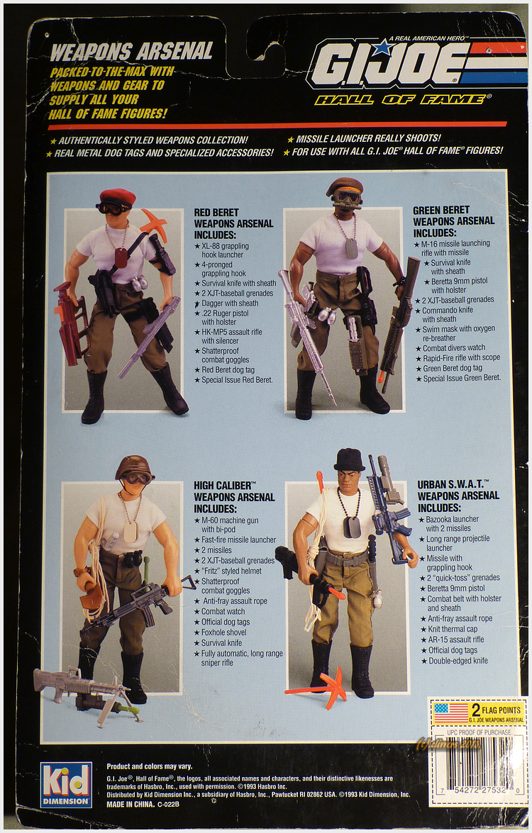 Green Beret Weapons Arsenal (1993)... 34321449311_83258260cb_o