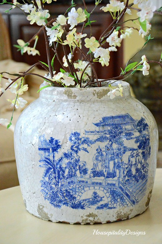 Chinoiserie Crock-Housepitality Designs