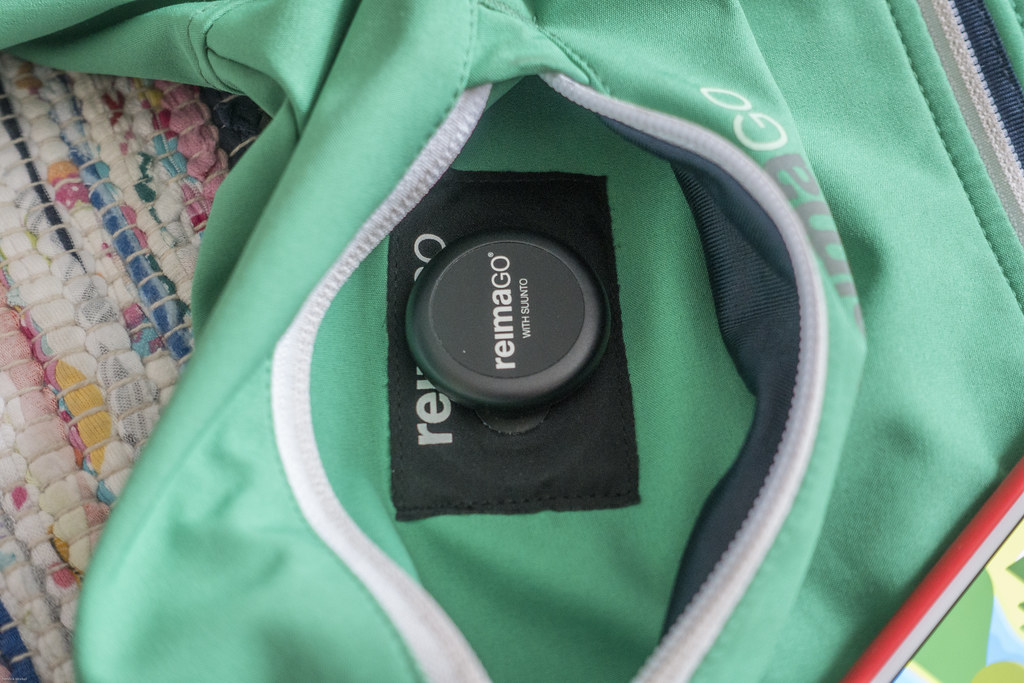 ReimaGo Sensor in the ReimaGo Softshell Jacket