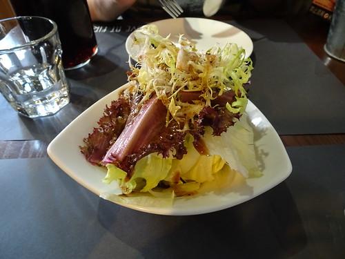 套餐的沙拉