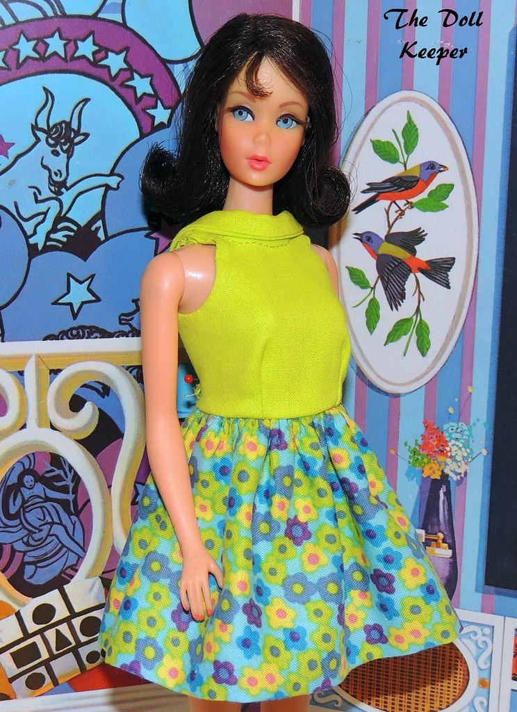 Vintage Mod Tnt Black Hair Marlo Flip Barbie The Age Of Aq Flickr