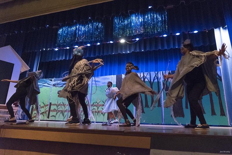 "RKMS & Golda Meir Students Perform ""The Wiz"""