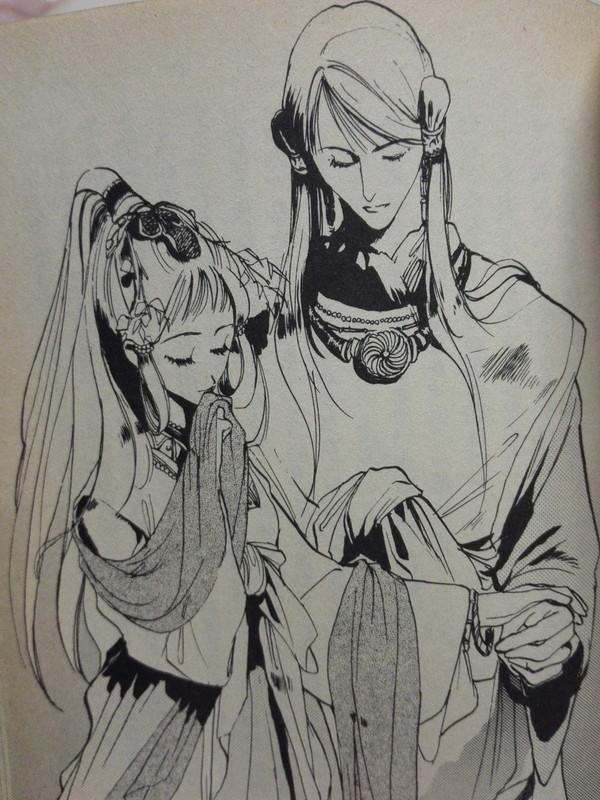 銀の海金の大地 佐保姫と大王(おおきみ)