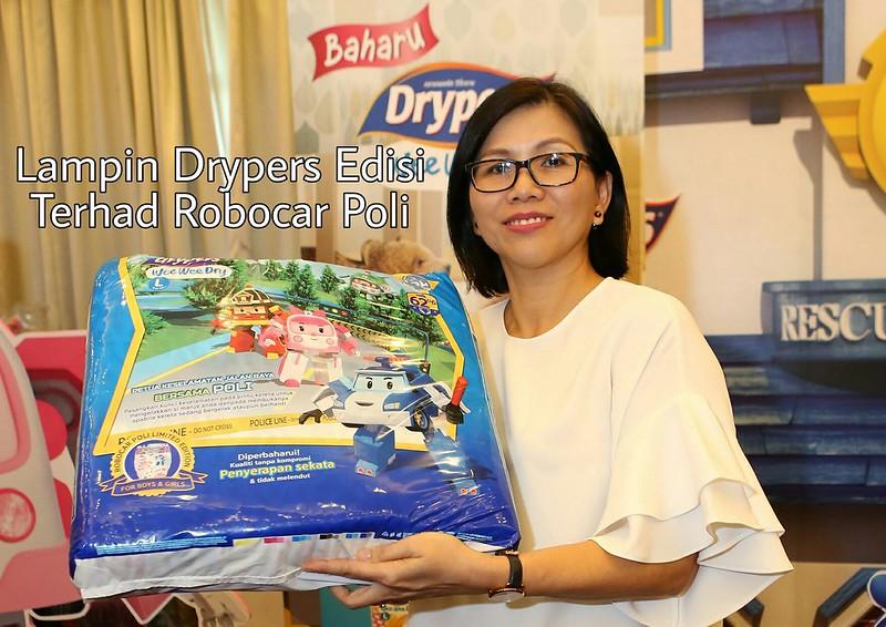 Drypers Robocar Poli