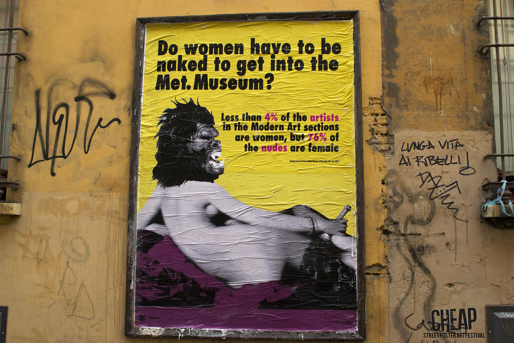 GUERRILLA GIRLS | CHEAP street poster art festival 2017