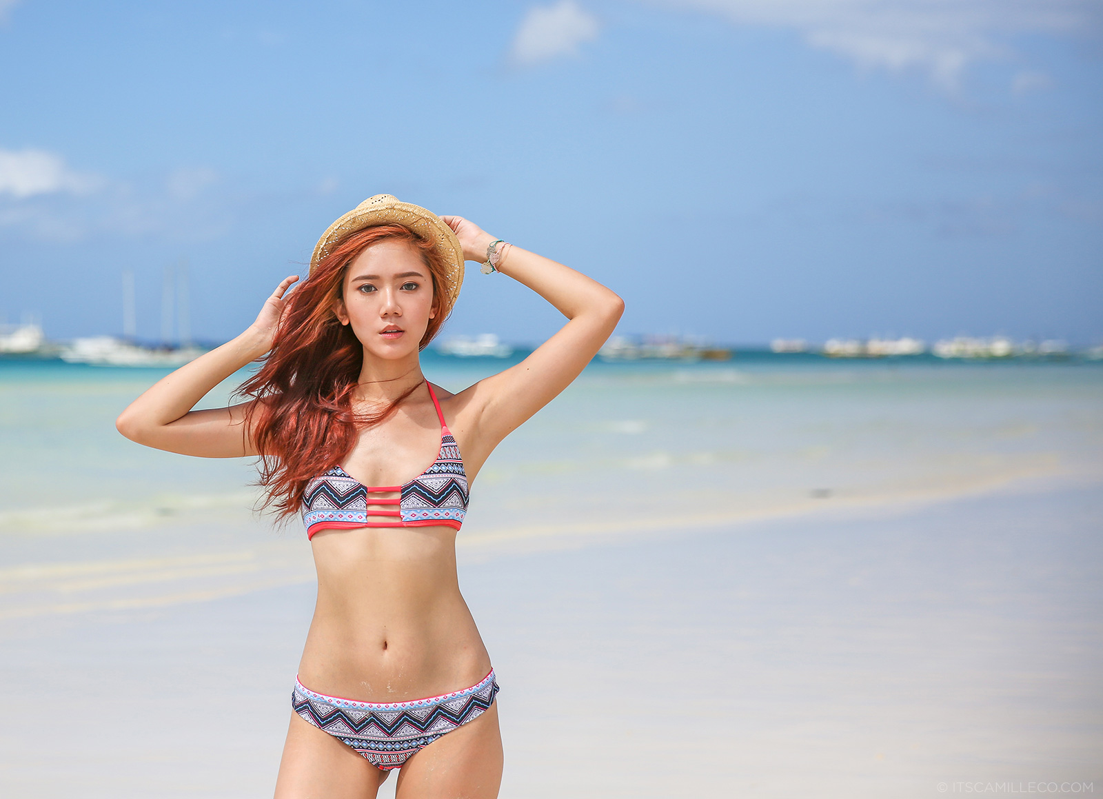 camille co in khongboon bikini