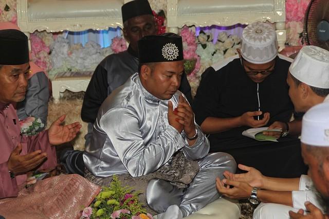 Bacaan doa selamat selepas lafaz nikah disahkan