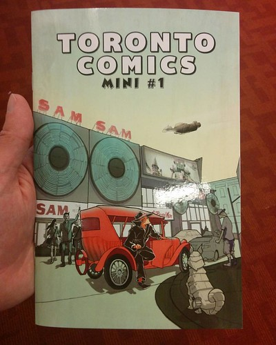 Toronto Comics Mini #1, acquired #toronto #tcaf #torontoreferencelibrary #torontocomics #books