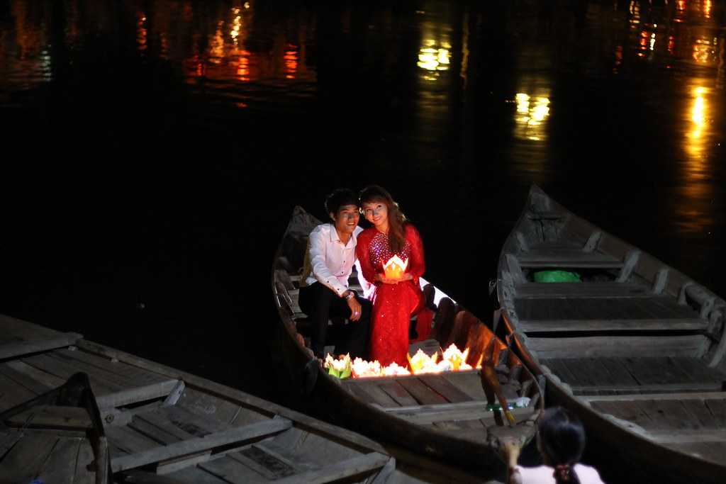 Newlyweds in Hội An