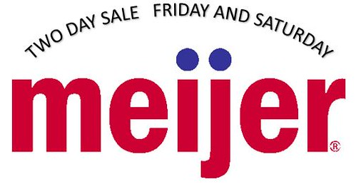 Meijer Two Day Sale May 19