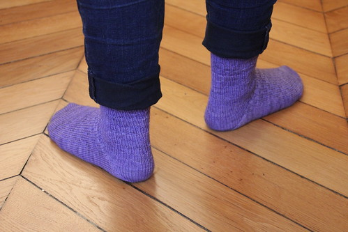 Syncopation socks