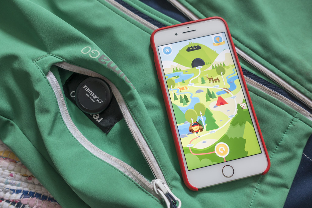 ReimaGo Sensor, ReimaGo App and ReimaGo Softshell Jacket
