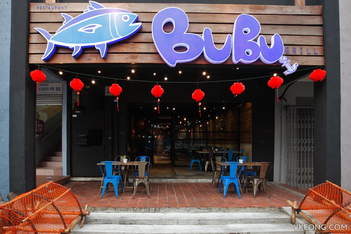 Bubu Grill Seafood Menjalara Kepong