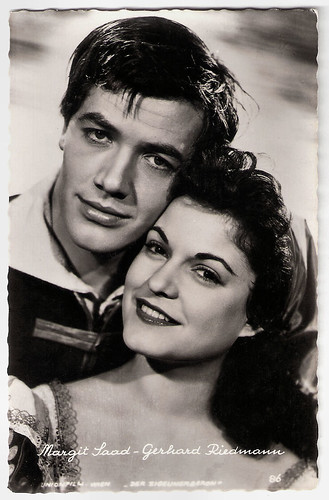 Gerhard Riedmann and Margit Saad in Der Zigeunerbaron (1954)