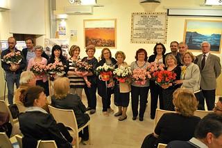 Noicattaro. Inaugurazione mostra Lute e premiazione 'Balconi Fioriti' front