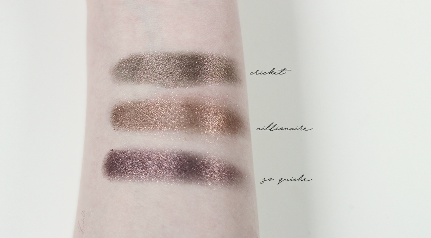 colourpop metallic shadows swatches