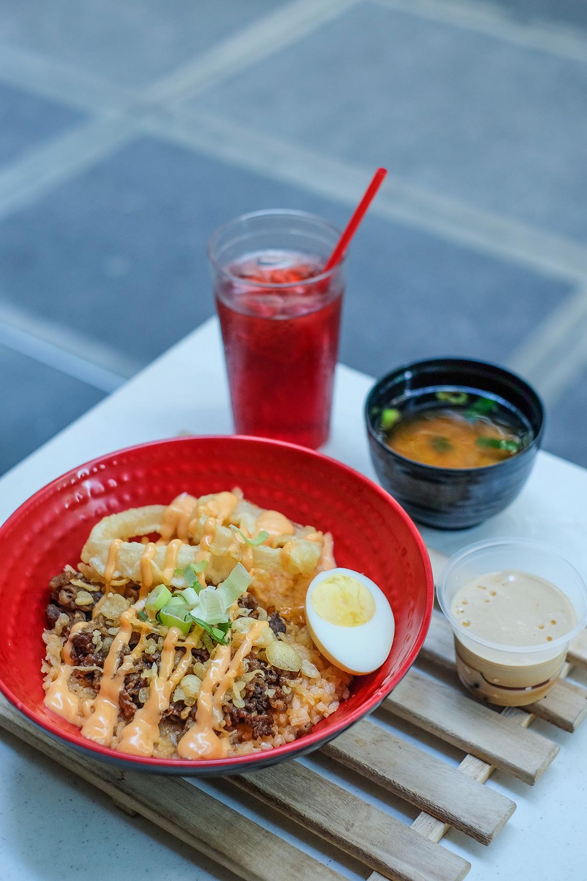 Tokyo Tokyo Sriracha Donburi