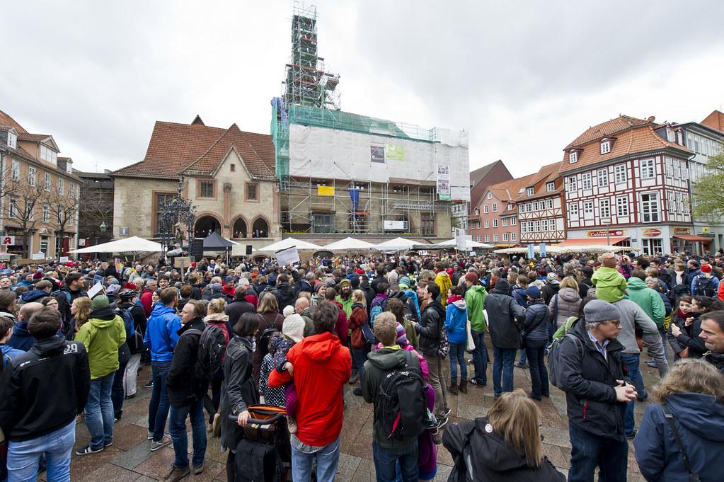 March for Science Göttingen 2017