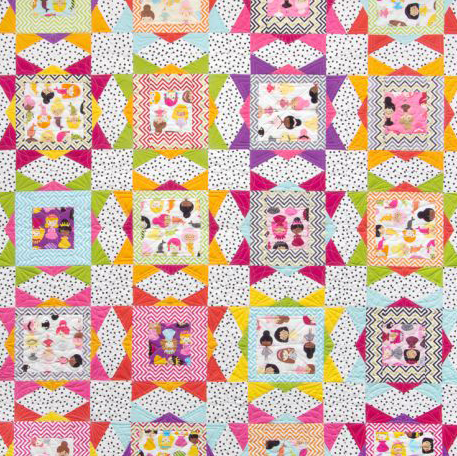 Girlfriends Free Quilt Pattern