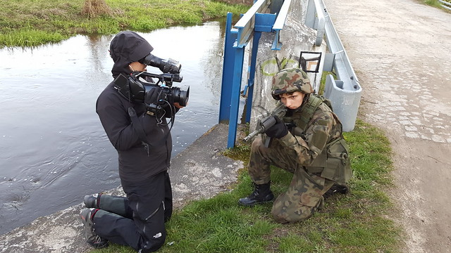 Filming Polish paramilitary group SJS Strzelec - Part 3