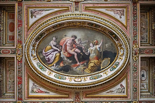 Plafond de la chambre des muses villa m dicis rome flickr - Villa medicis rome chambres ...
