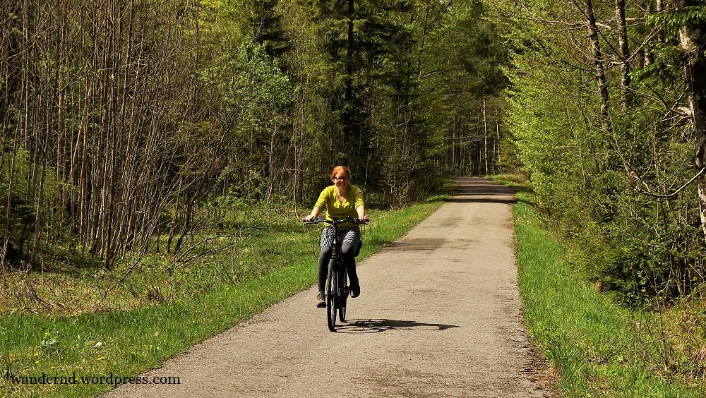 Mit dem Rad entlang der Isar zum Sylvensteinspeicher