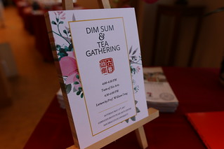 May 13 '17 Dim Sum & Tea Gathering at Six Arts Center