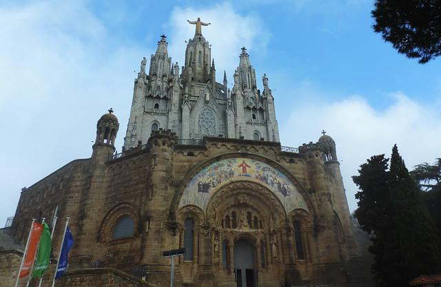 Barcelona views: Sagrat Cor, Barcelona, Spain