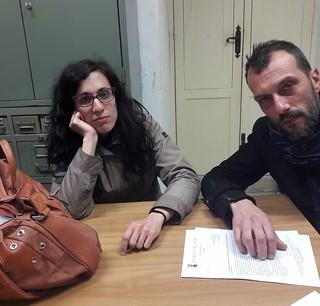 Lavinia Orlando in Commissione attende invano Tundo e Spada