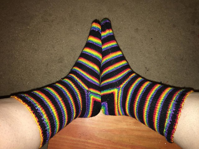Finished! #operationsockdrawer #smoothoperator #knittersofinstagram