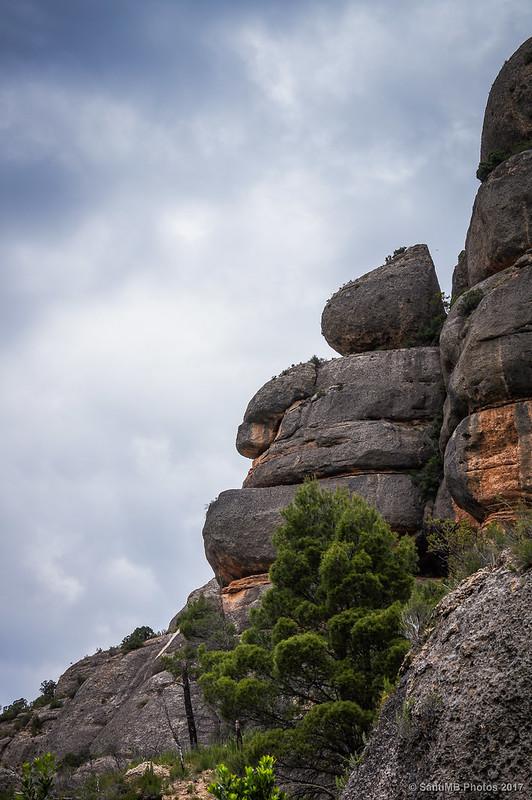 Roca del barranco de Sant Bartomeu