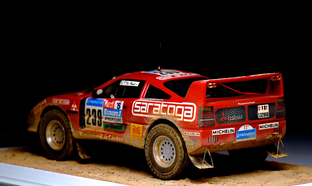 Master ferrari f40 pajero paris darkar 1989 mini racing for Garage paris club