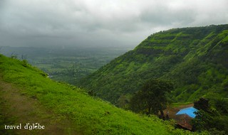 Lush green nature can be seen here while Prabalmachi camping