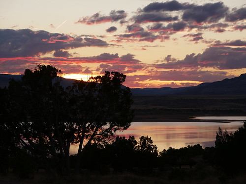 Sunset, Abiquiu Lake, New Mexico