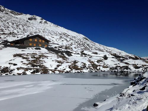 Le Lac du Lou & son nouveau refuge
