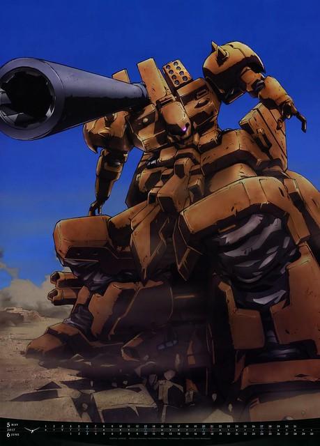 Gundam Calendar Series 2017