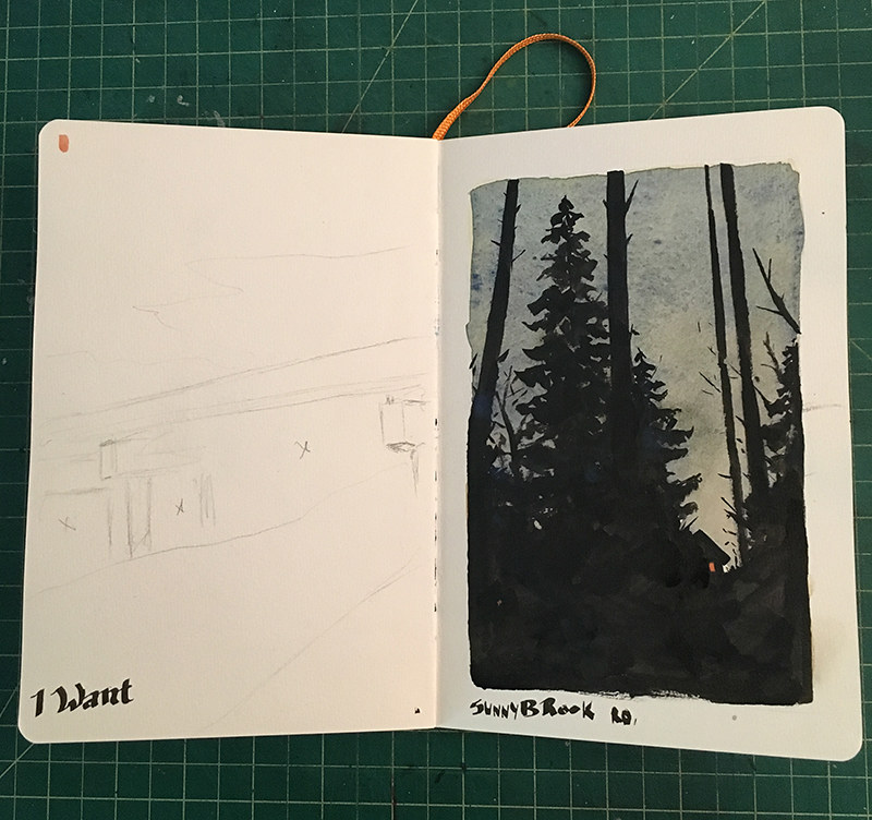 Nature Sketchbook 001