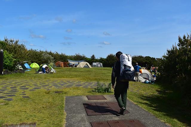 八丈島・底土キャンプ場