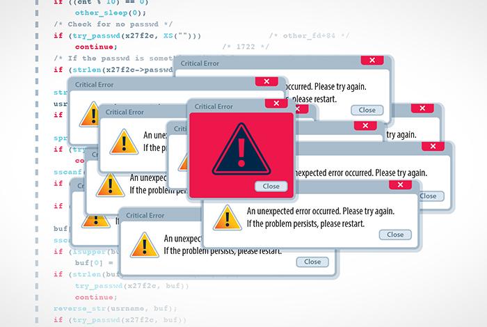 Malicious code often looks just like ordinary code