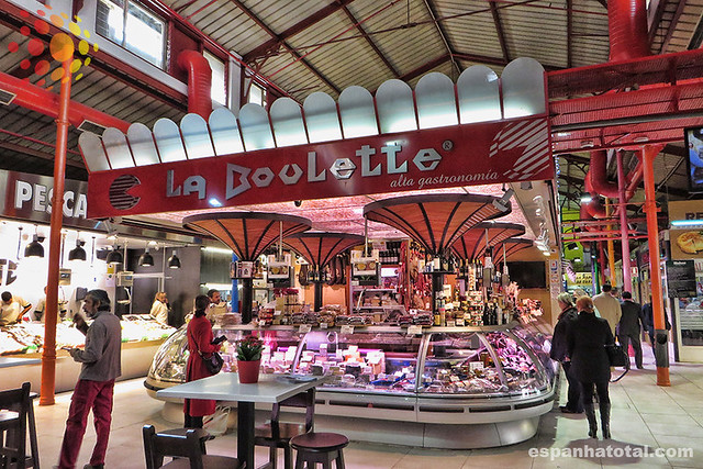 os melhores mercados de Madri