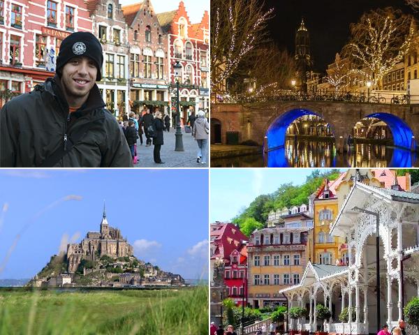 Ruta de 8 días por Europa por las ciudades menos conocidas