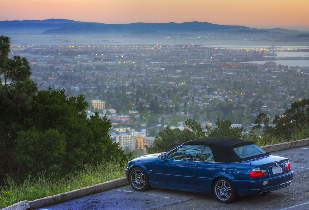 Convertible in the Hills