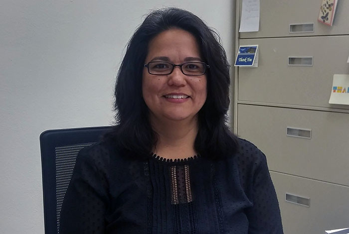 Once an elementary school teacher in Española, Yanira Vasquez is now Director of the Math and Science Bureau of the Public Education Department.