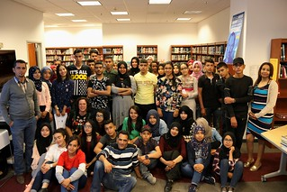 High Schools Students From Ben Guerdane Visit the Embassy
