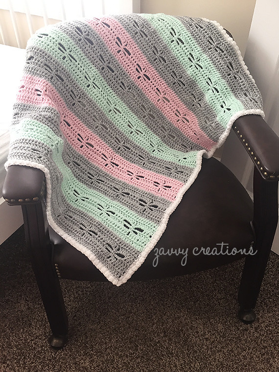 Dragonfly Blanket Over Chair
