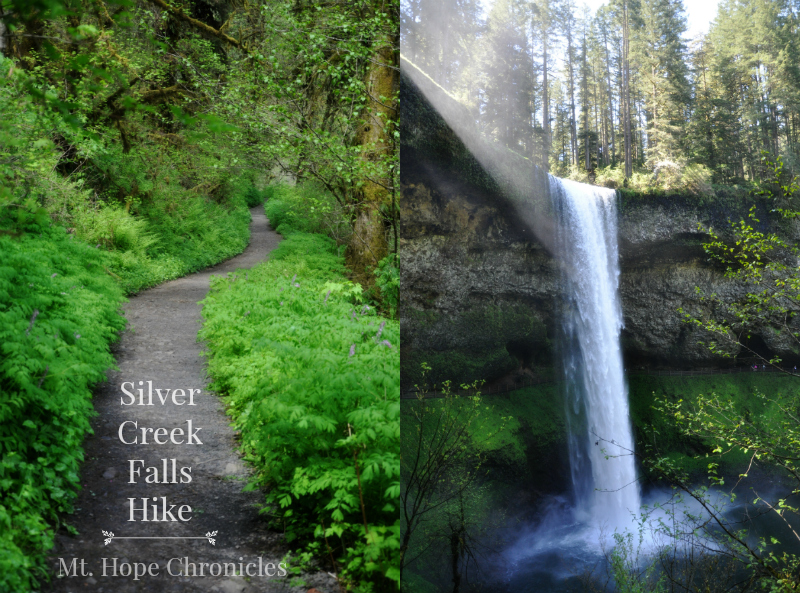 Silver Creek Falls Hike @ Mt. Hope Chronicles