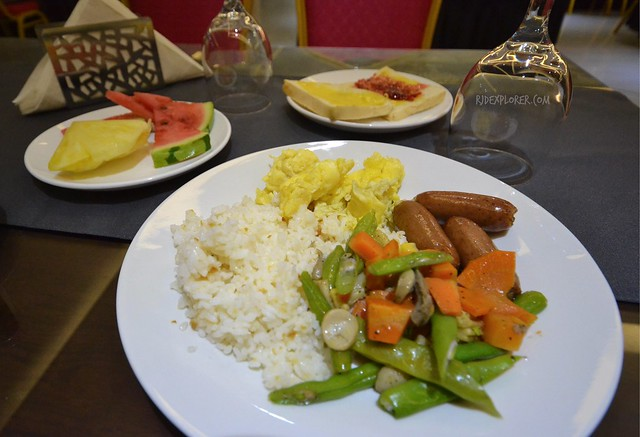 southpole central hotel cebu breakfast