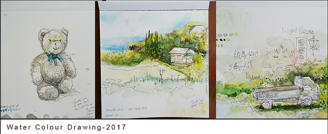 Drawing-water colour 2017